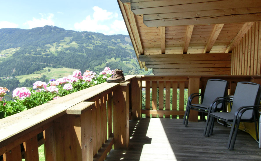 Balkon Berghof Thöni