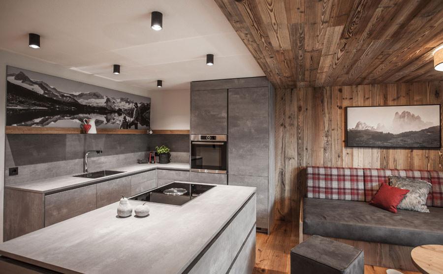 Sestriere Wohnküche