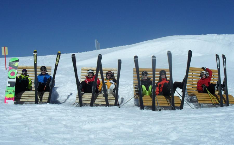 Skitag mit unseren Gästen
