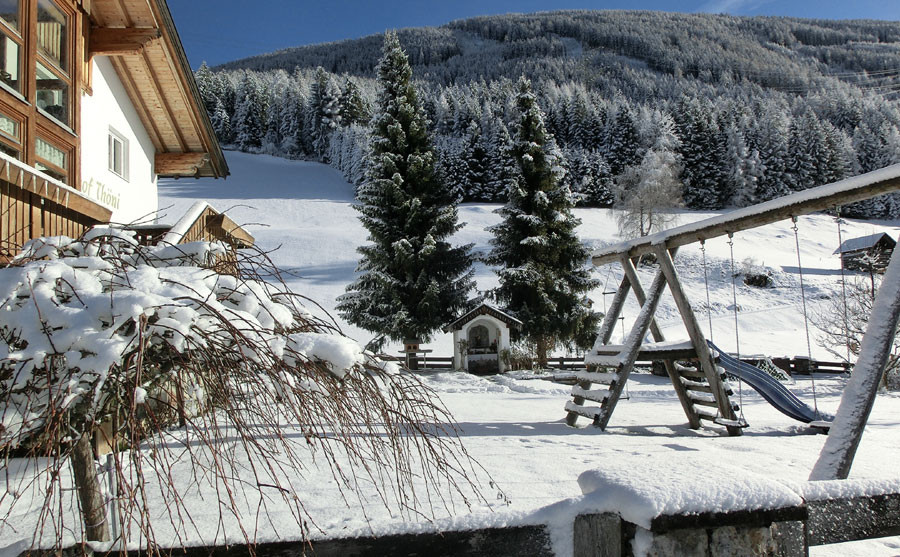 Winter am Berghof