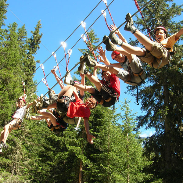 Familienklettern im XP Abenteuerpark