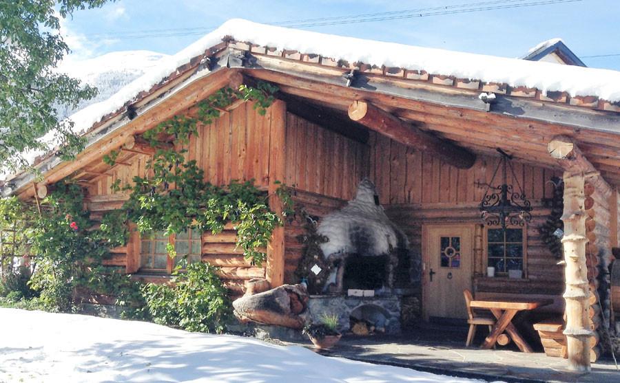 Wintereinbruch am Tobadillerhof