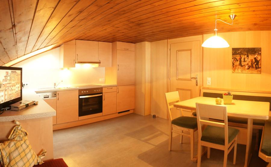 Bergfrieden Küche