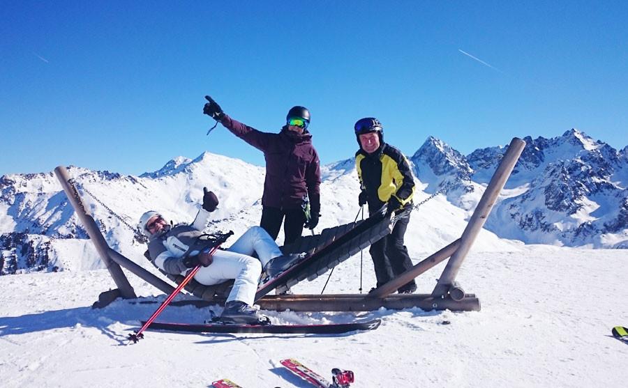 Hurra Skifahren