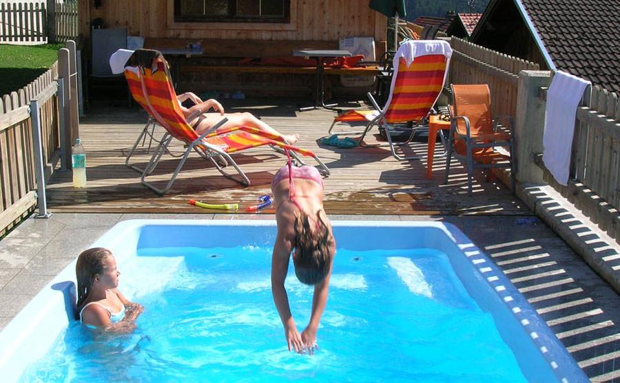Beheiztes Schwimmbad