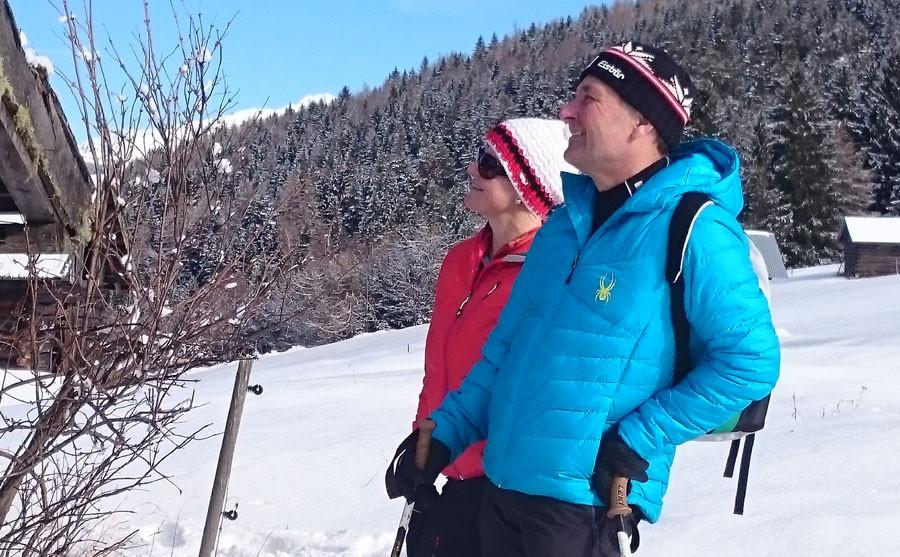 Winterwandern mit Claudia und Hans