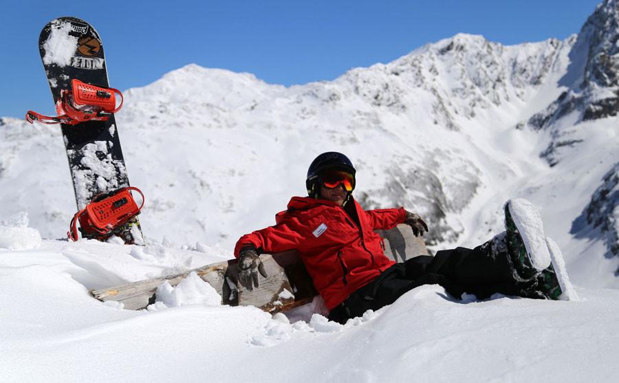 Snowboard macht Spaß