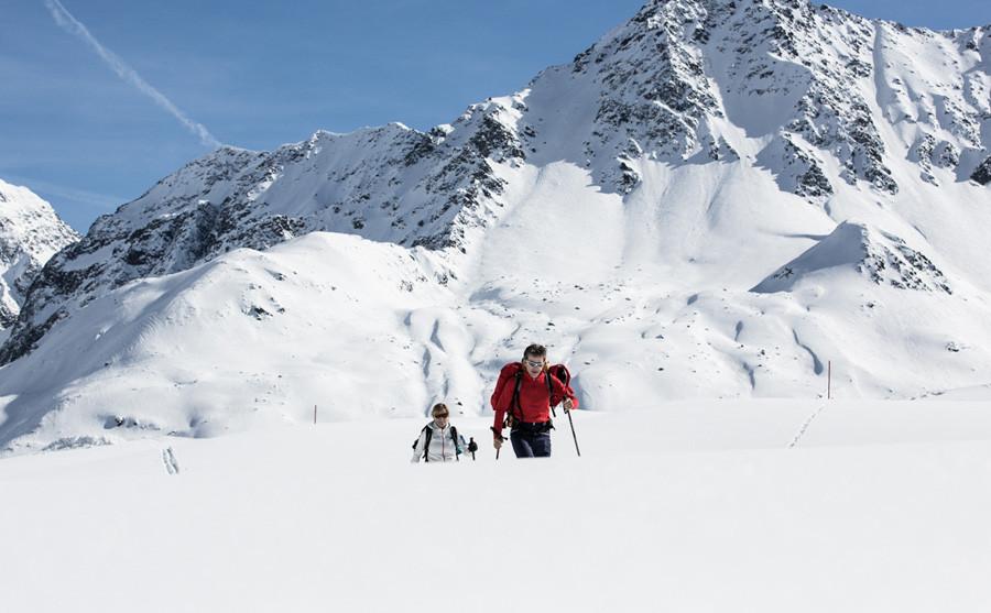Skitour zum Rifflsee
